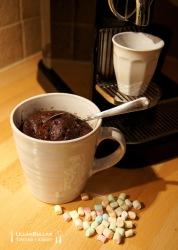 Chokladkaka i mugg