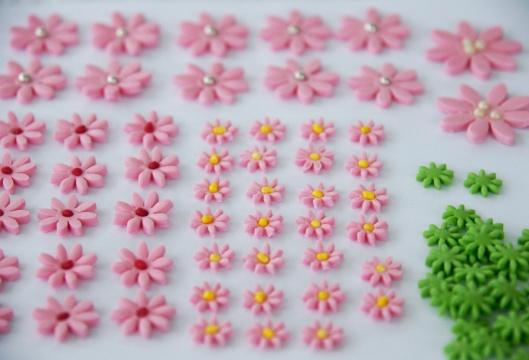 Vackra blommor - enkelt med stämpel ...