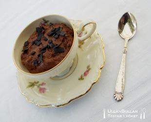 Chokladmousse i kopp