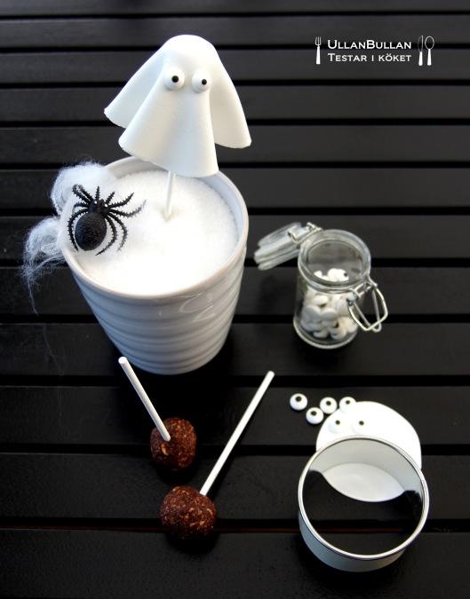 Spöken i bästa chokladboll-stil ...