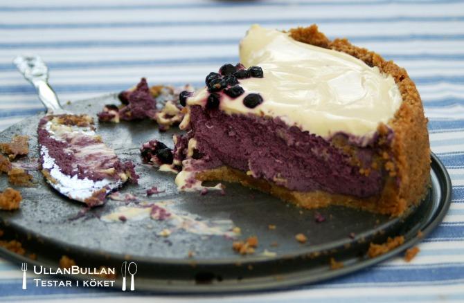 Blåbärscheesecake