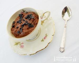 Chokladmousse kopp