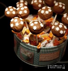 Chokladbollar på pinne Recept