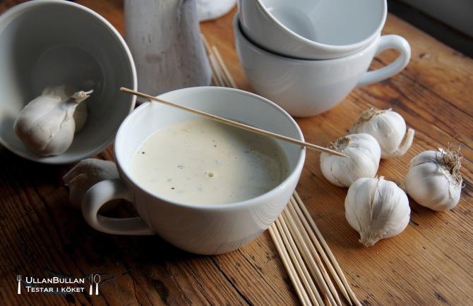 Vitlökssoppa Recept