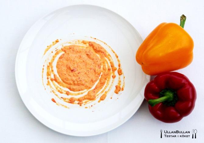 Rostad paprika sås recept