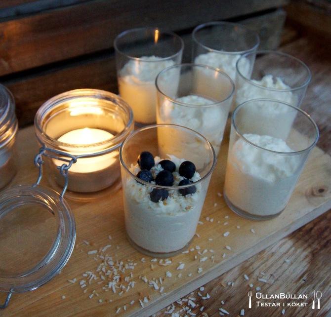 Kokosmousse recept